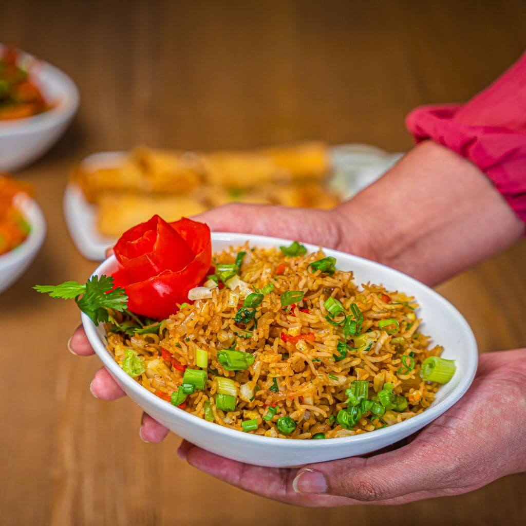 Vegetable Fried Rice